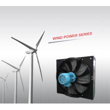 Permutador de calor de energia eólica