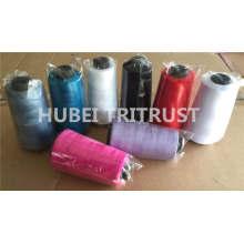 100% gesponnenes Polyester Nähgarn für Bekleidung (60s / 3)