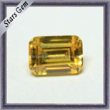 Venda Por Atacado jóias octagon esmeralda cortar zircônia cúbica pedras preciosas