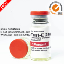 Test-E 250 halbfertiges injizierbares Steroid-flüssiges Testosteron Enanthate 250mg / Ml