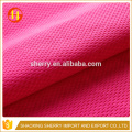 Eye bird mesh fabric for polyester sportswear