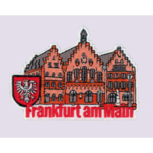 Fraldas bordadas de Frankfurt Am Main