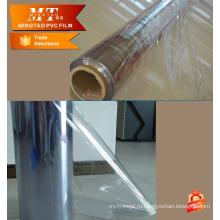 Толщина 0.06-0.5 mm нормальный прозрачного ПВХ мягкая прозрачная пленка ПВХ
