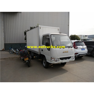 Camions fourgons isolés JAC 2 tonnes