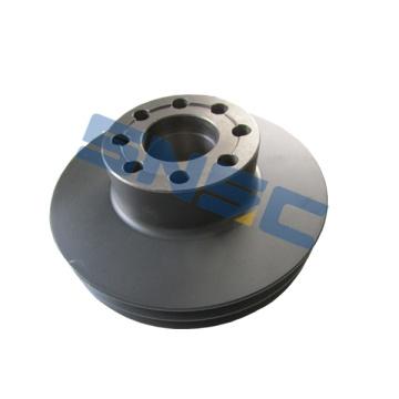 Polea de correa de piezas de motor weichai WD615 61560020016