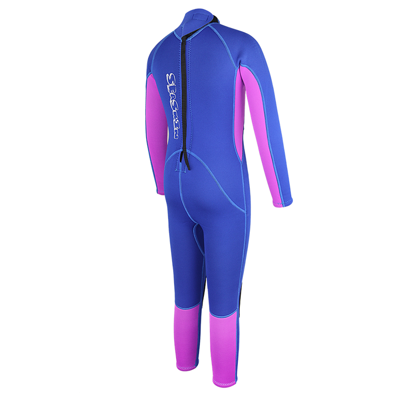 Seaskin Kids Back Zip Wetsuit