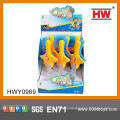 Divertido espadas flashes mini juguetes de promoción de plástico para niños