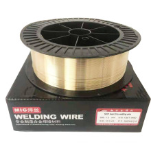 good performance copper alloy mig welding wire aws ercu 0.9mm for  gas welding