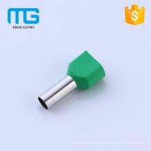 Preço barato PP isolado cobre terminais de cabo de gêmeo