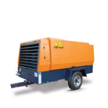 37KW-185KW Electric Mobile Air Compressor Portable Electric Rotary Screw Air Compressor for Drilling
