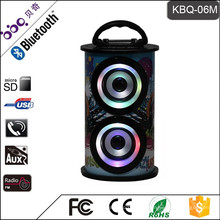 BBQ KBQ-06M 10 Watt 1200 mAh 2017 Dame High Heel Stereo Outdoor Mini Bluetooth Lautsprecher für Verkauf