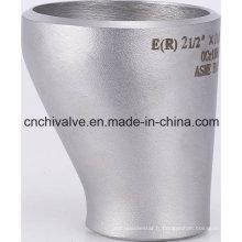 Réducteur excentrique en acier inoxydable sans soudure en acier inoxydable