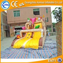 2016 Corrediça inflável do divertimento barato / corrediça seca inflável / corrediça inflável gigante de China para a venda