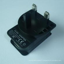 5V 2000mA UK Plug USB Power Adapter