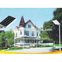 Luz de calle solar todo en uno 12w LED a prueba de herrumbre nuevo diseño de la compañía de Shinehui en shenzhen