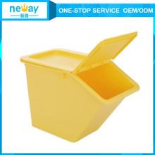 50L Haushalt Kunststoff Aufbewahrungsbox für Lebensmittel und Kleidung