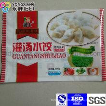Laminierte gefrorene Knödel Verpackungstasche