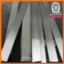 309 s acier inox brillant barre plate