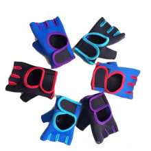 Wholesale Half-Finger Cycling Non-Slip Breathable Weightlifting Pull-up Multicolor Fitness Gloves