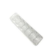 Bandeja de inserción de macaron transparente de concha de exhibición