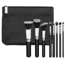 High-Quality 8PCS Vegan Makeup Brush Set (ST0802)