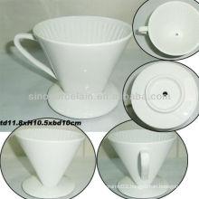 4.6inch Ceramic Coffee Filter Mug For BS130521B
