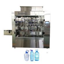 Machine de capsulage de remplissage de lavage d'eau de bouteille automatique