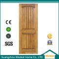 Wooden Interior Composite Solid Wooden Door with MDF Infilling