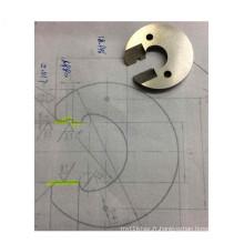 Usinage CNC de précision en acier inoxydable de pièces de moule
