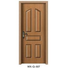 NUEVO POPULAR Diseño Puerta interior de madera sola de venta caliente