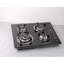 Construído em fogão a gás com 4 Sabaf queimadores