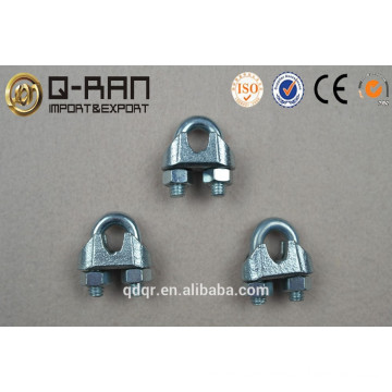 Zinc Plated US Type Malleable Wire Rope Clip--Rigging Hardware