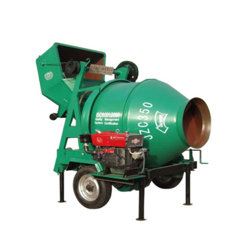 small portable diesel concrete mixer machine JZC350