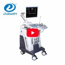 DW-C80 dispositivo médico 3 sondas carretilla color doppler precio de la máquina de ultrasonido