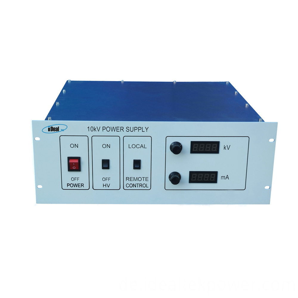 Ccp High Voltage Power Supply Front Panel 4u
