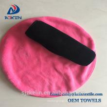 Super quality new material round microfiber makeup remover cloth towel Super quality new material round microfiber makeup remover cloth towel