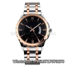 2016 novo estilo de relógio de quartzo, moda relógio de aço inoxidável hl-bg-193