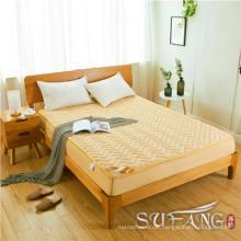Superb Hotel verwendet dünne Baumwolle in der Mitte gesteppt Matratzenschoner