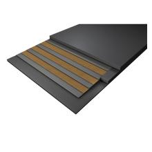 High Tensile strength Durable Black multi-ply Rubber Conveyor Belt