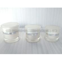 15ml 30ml 50ml blanc Radian forme Gel acrylique pot Skincare P