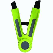 Crianças colete reflector poliéster alta visibilidade colete de segurança escolar (yky2853)