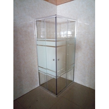 Adjustable Aluminum Frame Shower Room Enclosure (E-07ABL)