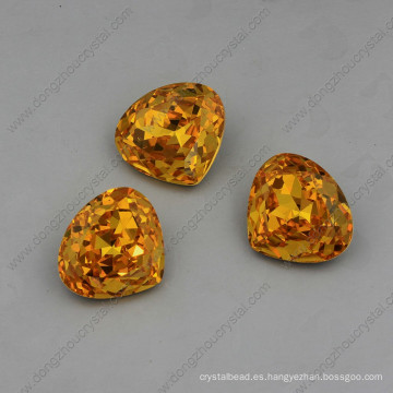 Yellow Strass Stones Jewelry Beads Alta calidad
