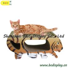 Оптическая картонная кошачая доска для царапин с SGS (B & C-H003)