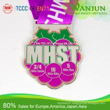 Custom Metal Sport Medals No Minimum Order