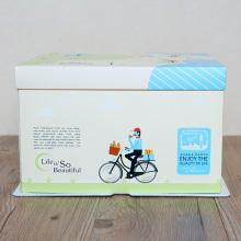 Embalagem de caixa de papel de bolo quadrado