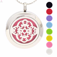 Wholesale Fashion Essential Oil Aromatherapy Locket Pendant Necklace