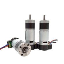 GMP36-555PM-EN 12v 24v micro dc planetary gear motor with encoder