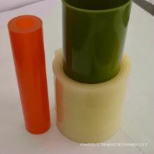Feuille en plastique colorée anti-choc de polyuréthane d'unité centrale / petit pain