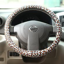 Tampa do volante do silicone da decoração interior do carro da menina